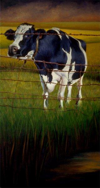 Blue Cow, 1994